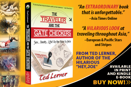 "Praise for Ted Lerner's  ""The Traveler & the Gate Checkers"""